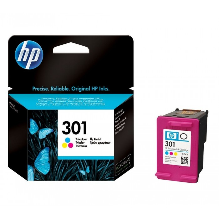 Cartuccia Inchiostro Originale HP 301 colore