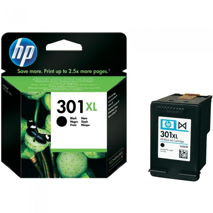 Cartuccia Inchiostro Originale HP 301XL nera