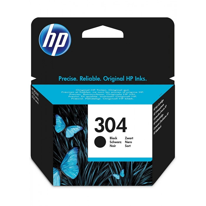 Cartuccia Inchiostro Originale HP 304 nera
