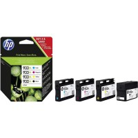 Cartuccia Multipack Inchiostri Originali HP 932XL/933XL nera e tre colori