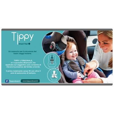Cuscino di sicurezza per bambini in auto Bluetooth Tippy