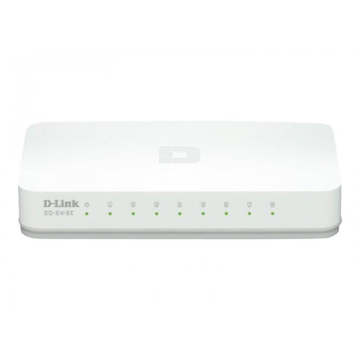 Hub Switch di rete 8 Porte 10/100 D-link
