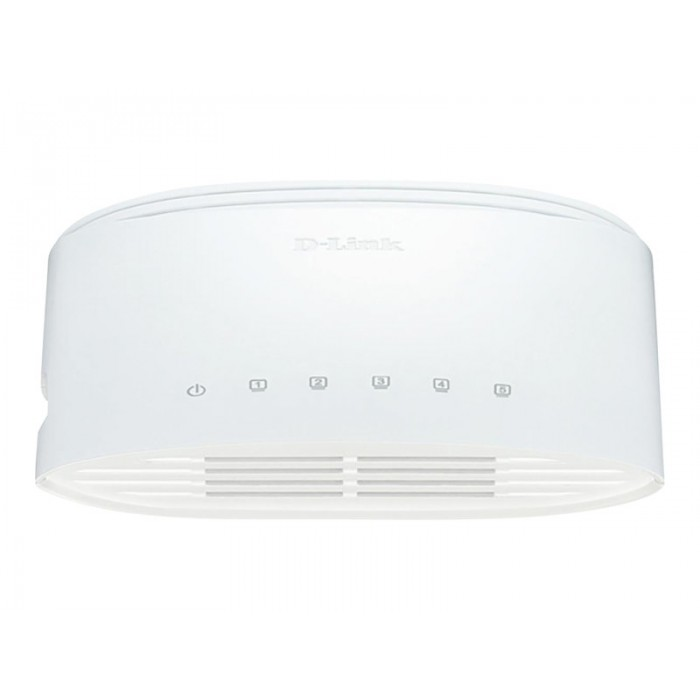 Hub Switch di rete 5 Porte 10/100/1000 D-link DGS 1005D