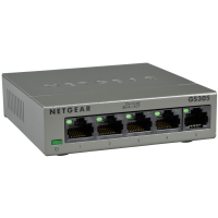 Hub Switch di rete 5 Porte 10/100/1000 Netgear GS305