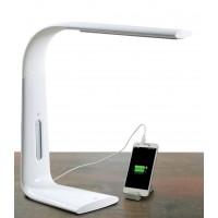 Lampada LED da tavolo con Caricatore  USB
