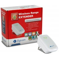 Range Extender Digicom 300N WIFI ripetitore di rete wireless repeater