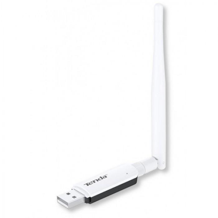 Tenda Adattatore Wireless 300Mbps High Gain 3.5dBi USB U1