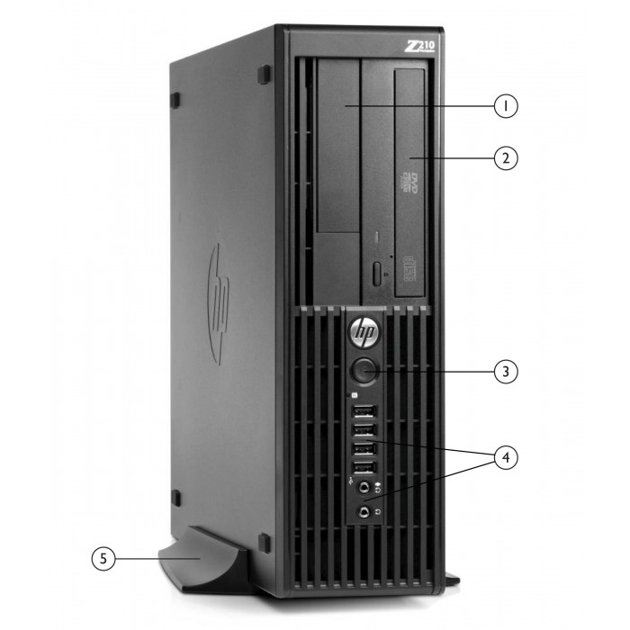 Computer Desk WorkStation HP Z210 SFF