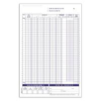 Registri corrispettivi - Primanota dettaglianti (Corrispettivi del mese) - Blocco - 24 fogli Buffetti