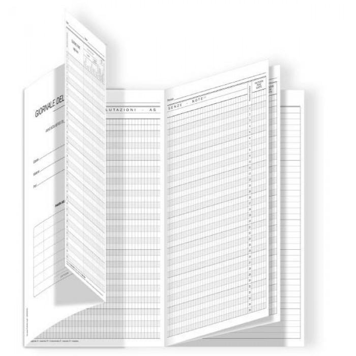 Registro del Professore 3 classi Buffetti 36 pagine