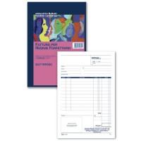 Registro fattura per Regime Forfettario - Blocco 50/50 - 21,5x14,8 cm Buffetti