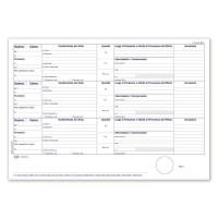 Registro Buffetti Rifiuti - Carico - Scarico rifiuti per DETENTORI ( mod. A ) - Blocco - 100 fogli