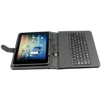 """Custodia Universale per tablet 8"""" con tastiera incorporata usb"""