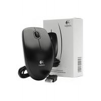 Mouse USB Logitech B100 nero