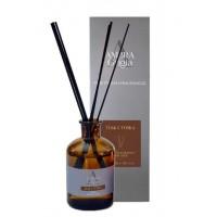 Diffusore di profumo per ambiente Ambra Grigia Made in Italy  240ml con bastoncini in fibra fragranza Teak & Tonka