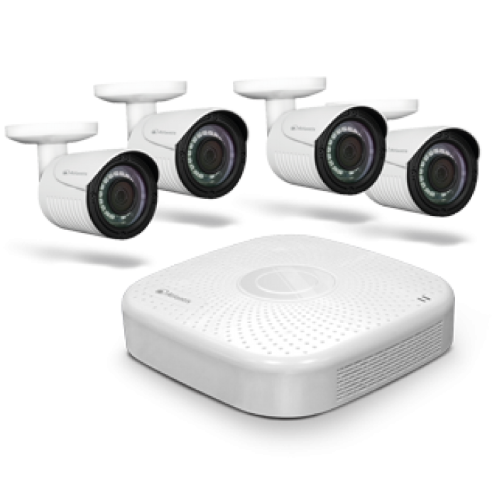 Kit video sorveglianza HIbrid DVR + 4 Telecamere A-HD
