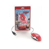 MOUSE USB CARS DISNEY PIXAR SUPER OPTICAL MOUSE TUCANO OTTICO CON FILO