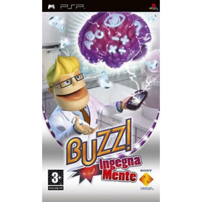 GIOCO VIDEOGAME SONY PSP BUZZ INGEGNA MENTE