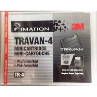 CARTUCCIA 3M IMATION DATA CARTRIDGE STORAGE TRAVAN-4!!!TR-4 DA 4/8GB