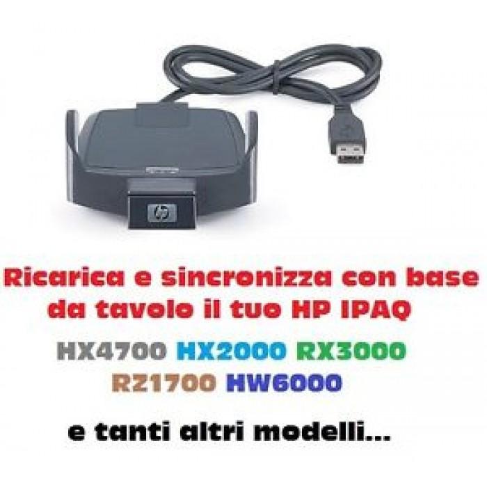 CRADLE KIT BASE DOCK ORIGINALE HP IPAQ FA260B PALMARIHX4700 HX2000 RX3000 RZ1700
