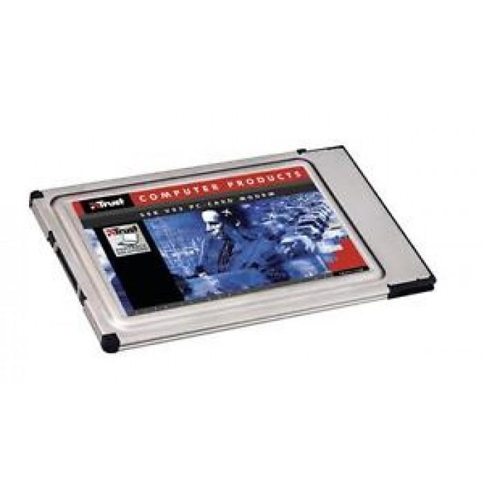 MODEM PCMCIA 56K 92V TRUST 13298 - PC CARD MODEM 56K - PER PORTATILI NOTEBOOK