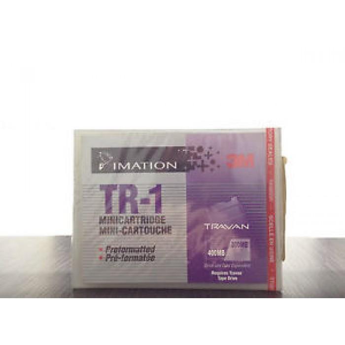 2 PZ MINI CARTUCCIA MINI CARTRIDGE DATI IMATION 3M TR-1 PREFORMATTATA 400/800MB
