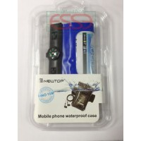 CUSTODIA X IPHONE SAMSUNG NOKIA HTC FINO A 5,5 IMPERMEABILE WATERPROOF BUSSOLA