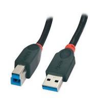 Cavo USB 3.0 Lindy 31462 tipo A/B M/M da 2MT - USB A Maschio a USB B Maschio