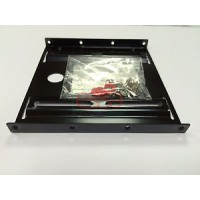 SUPPORTO FRAME ADATTATORE X HARD DISK HD SSD 2,5 A CASE CHASSIS 3,5 IN METALLO
