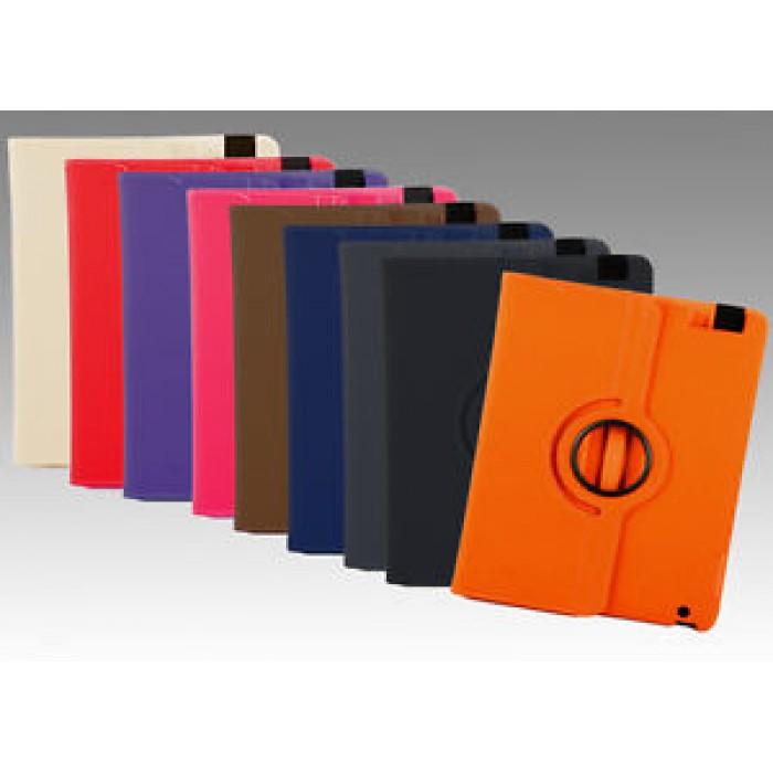 KIT Cover Custodia 360  Apple iPad Mini + Penna Touch e Panno display BLUE