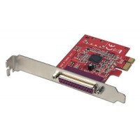 SCHEDA PCI EXPRESS 1 PORTA PARALLERA DB25 IEEE 1284 - LINDY 51185