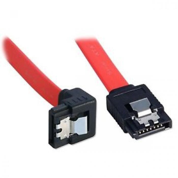 CAVO S-ATA SATA LINDY 33456 INTERNO X HARD DISK SSD 90 GRADI CON CLIP 0.5M