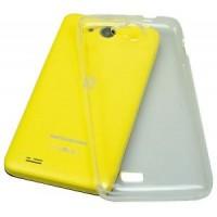 COVER BackCASE MEDIACOM PhonePad G400  Silicone trasparente Custodia M-G400SC