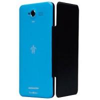 Custodia Mediacom FLIP CASE SMARTCASE PER PHONEPAD Duo G501 M-G501AFC AZZURRA