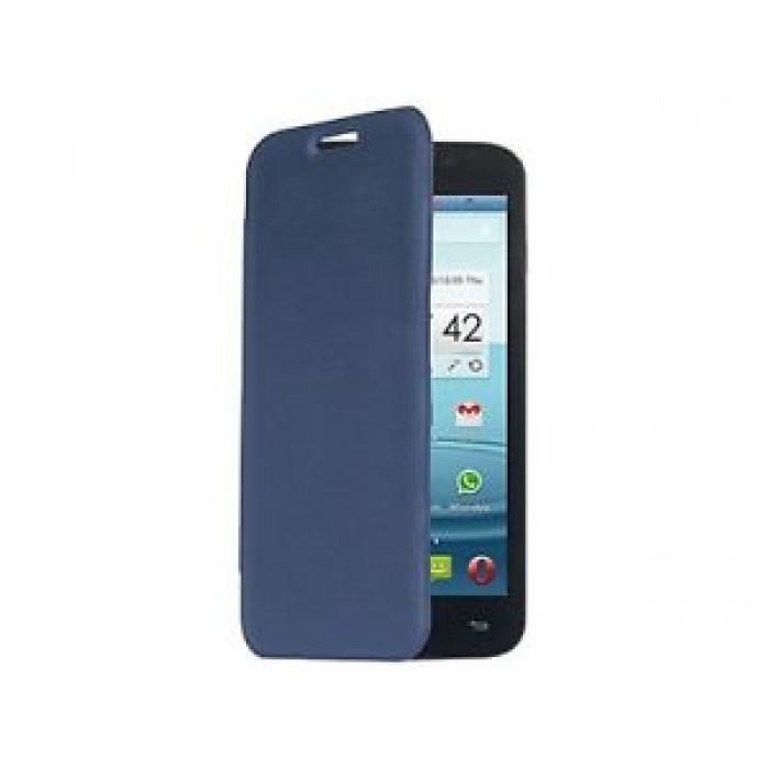 CUSTODIA ORIGINALE MEDIACOM FLIP CASE M-G500BFC SMARTPAD PHONEPAD DUO G500 - BLU
