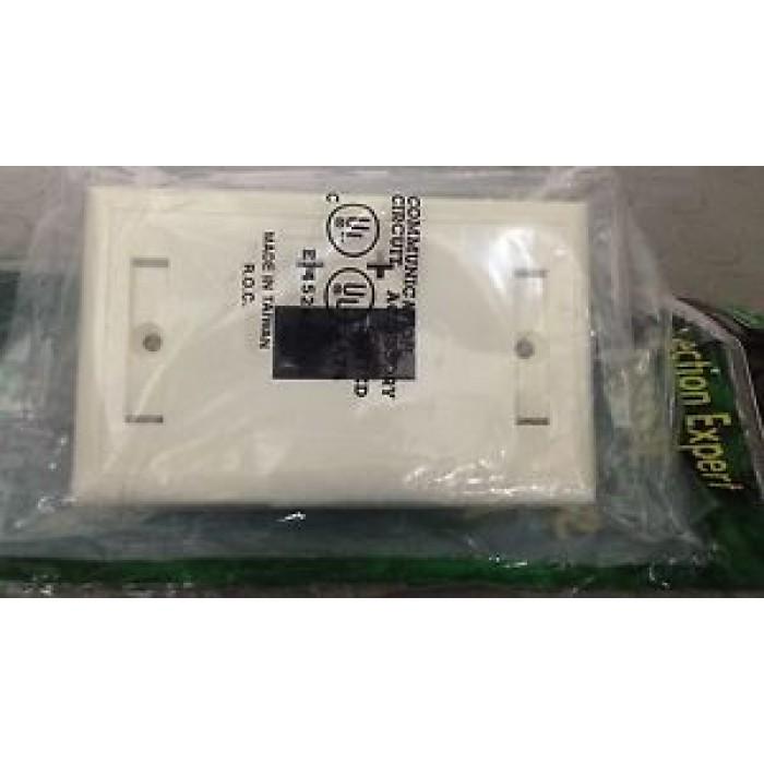 Doppia Presa RJ45 Da Parete Da Incasso Matsuyama EC040 Ethernet Lan