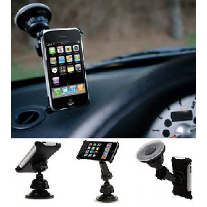 Staffa braccio supporto a ventosa da auto Griffin Windowseat iPhone 3G /3GS iPod