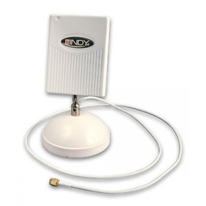 Antenna WLAN Wi-Fi wifi amplificata Lindy 52111 interni unidirezionale da 8dBi