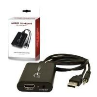 Adattatore convertitore riduttore da Usb con Audio ad Hdmi Full HD 1080p