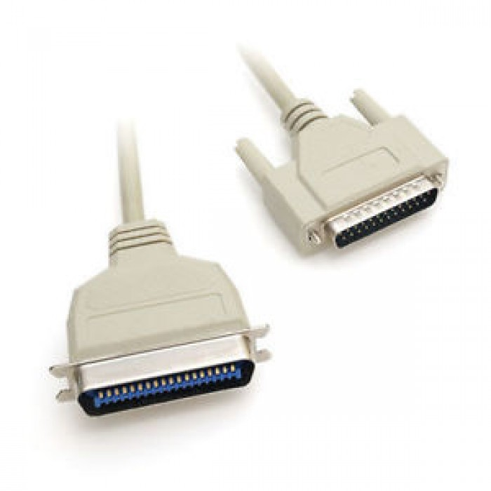 Cavo Stampante Centronics 36 Pin / LPT Parallela 25 Poli 1.8 MT bidirezionale MY