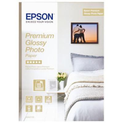 Carta fotografica Epson premium glossy lucida C13S042155 5 stelle A4 15 fogli