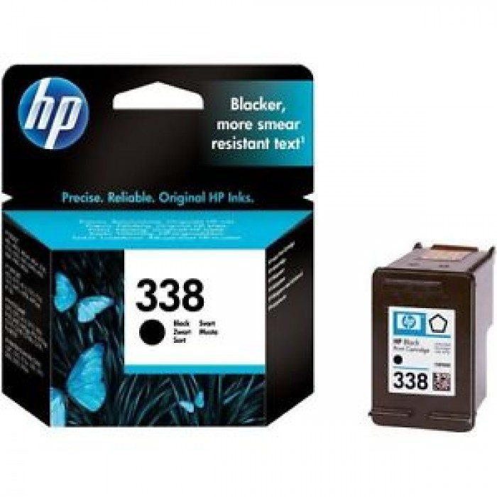 Cartuccia inchiostro originale HP338 nera per hp deskjet officejet photosmart